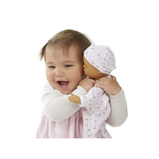 Melissa & Doug Mine to Love Mariana 12-Inch Poseable Baby Doll With Romper and Hat image number null