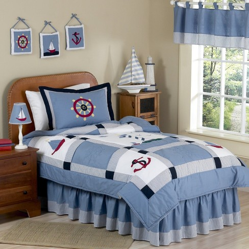 Come Sail Away Bedding Set - image 1 of 1