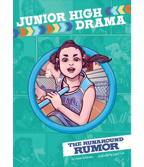 Runaround Rumor -  (Junior High Drama) by Louise Simonson (Paperback) - image 1 of 1