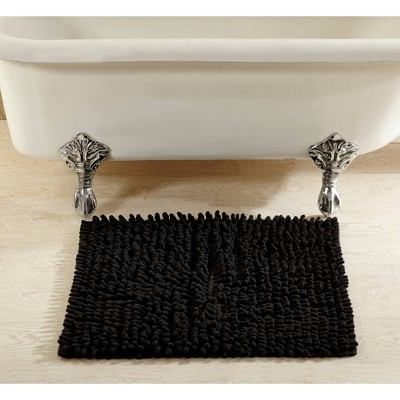 Bath Rugs And Mats Black - Better Trends