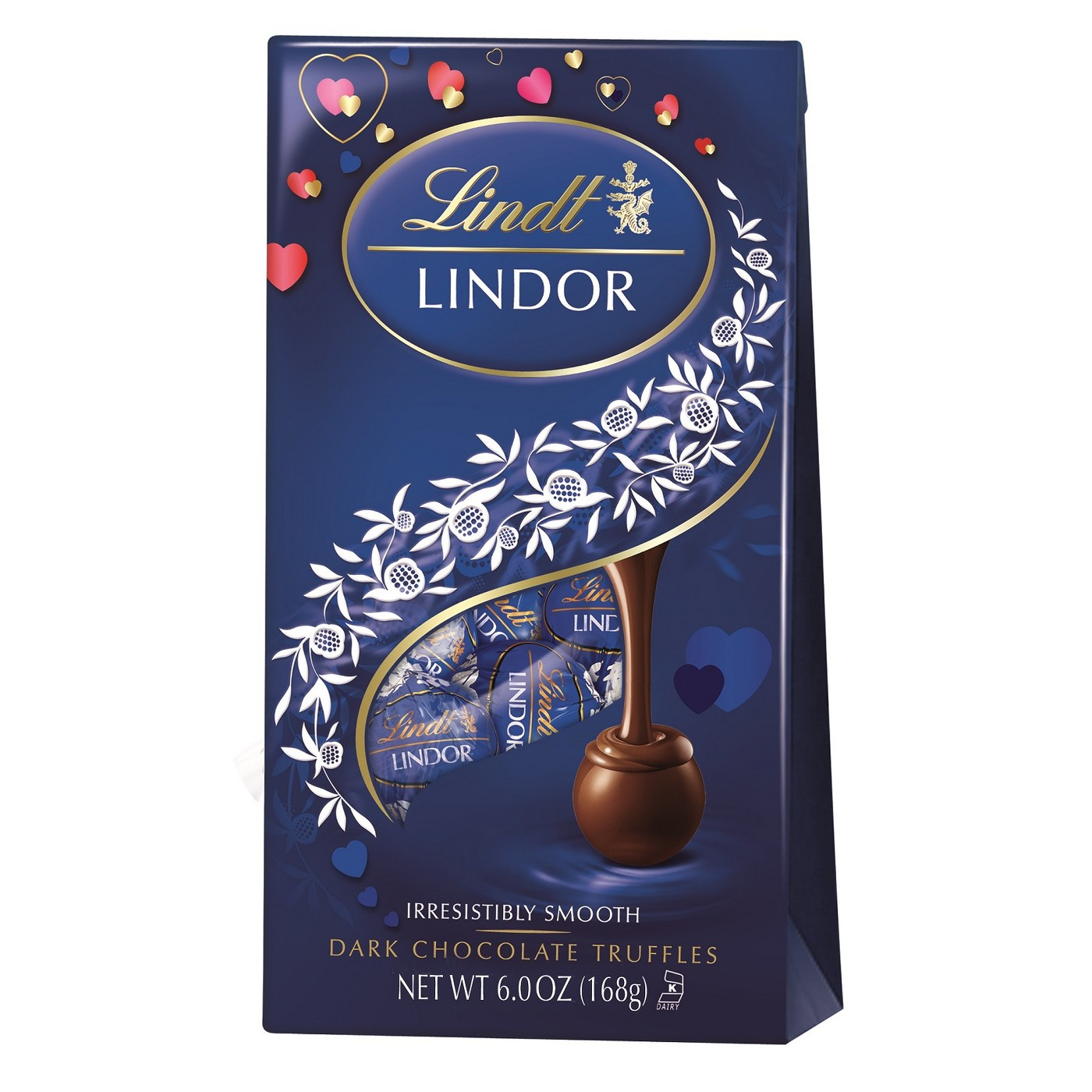 Lindor Valentine's Day Dark Chocolate Truffles - 6oz - image 1 of 1