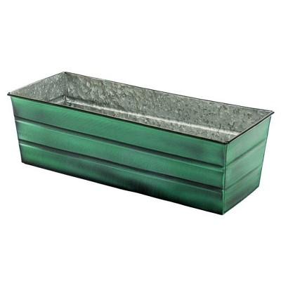 Galvanized Steel Flower Box - ACHLA Designs