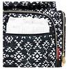 Fisher-Price Shiloh Southwest Diaper Bag Backpack - Black/White - image 2 of 4