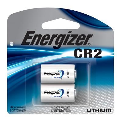Energizer Photo Lithium CR2 Batteries 2 ct (EL1CRBP-2)
