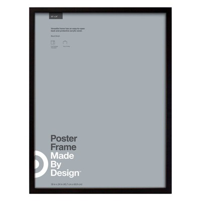 18  x 24  Poster Frame Black - Made By Design™