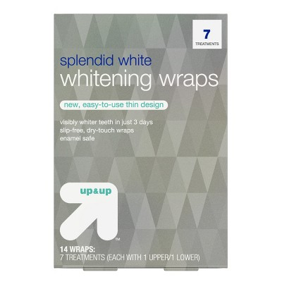 Splendid White Teeth Whitening Wraps 7-Day Treatment - up & up™