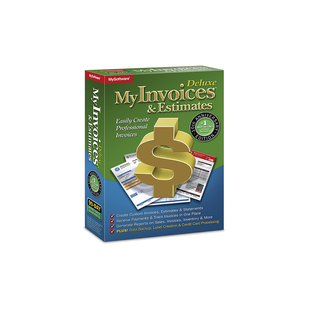 Avanquest Deluxe My Invoices & Estimates - PC Digital
