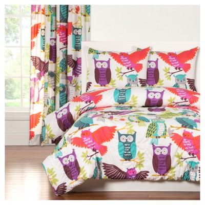 Crayola Owl Always Love You Comforter Set (Twin)2pc