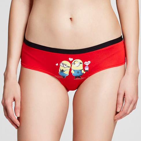 Disney Women's Minions Valentines Hipster - Red M - image 1 of 2