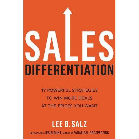 Sales Differentiation - by  Lee B Salz (Hardcover) - image 1 of 1