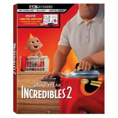 Incredibles 2 (Target Exclusive)(4K/UHD)