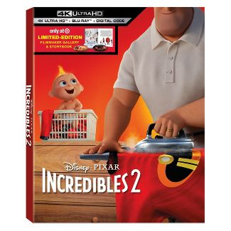 Incredibles 2 (Target Exclusive) (4K/UHD)