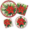 48ct Holiday Poinsettia Guest Towels - image 3 of 3