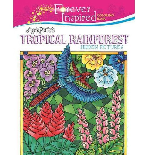 Angela Porter's Tropical Rainforest Hidden Pictures (Paperback) - image 1 of 1