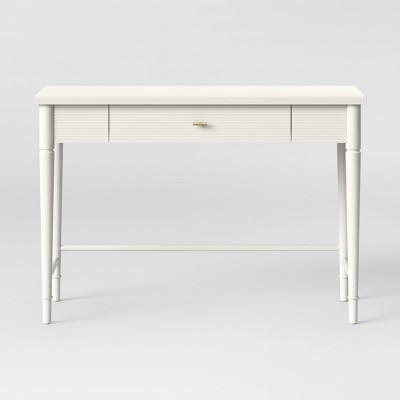Cambridge Turned Leg Desk Ivory   Threshold™ by Shop This Collection