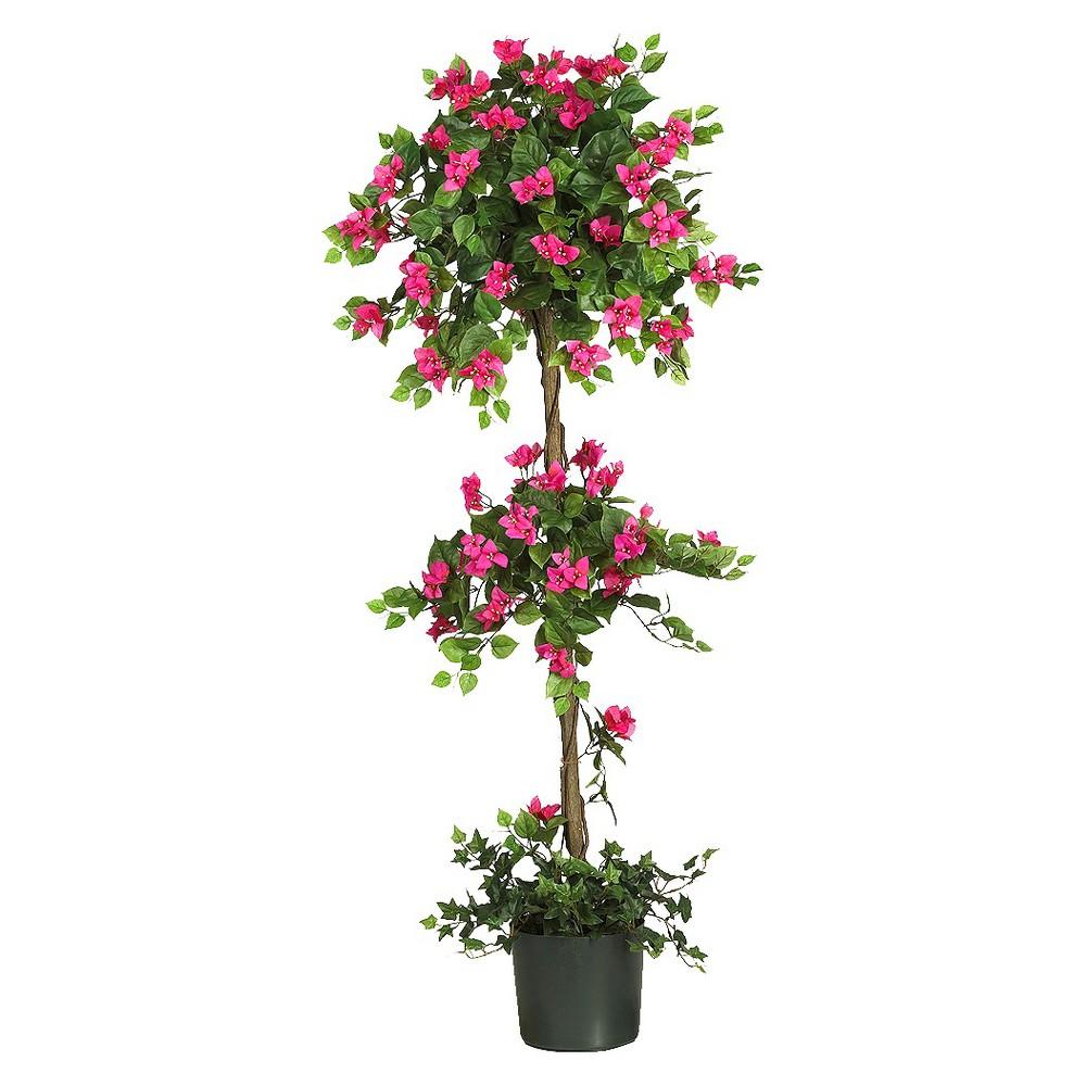 Nearly Natural 5 Mini Bougainvillea Topiary Cheap