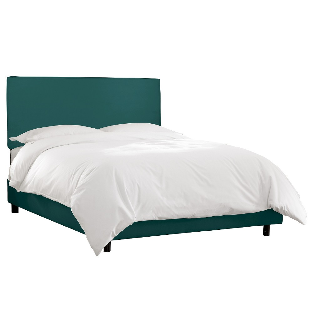 Austin Bed Mystere Peacock Full - Skyline Furniture