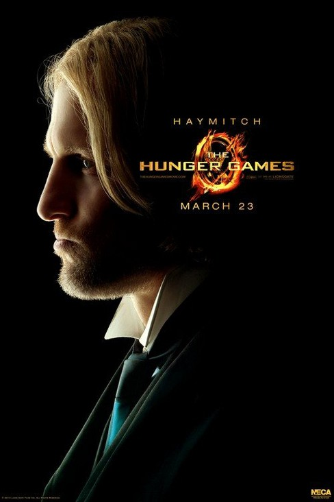 "The Hunger Games Movie Limited Edition poster ""Haymitch"" - image 1 of 1"