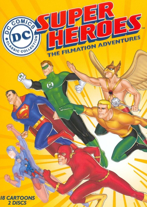 DC Super Heroes: The Filmation Adventures [2 Discs] - image 1 of 1