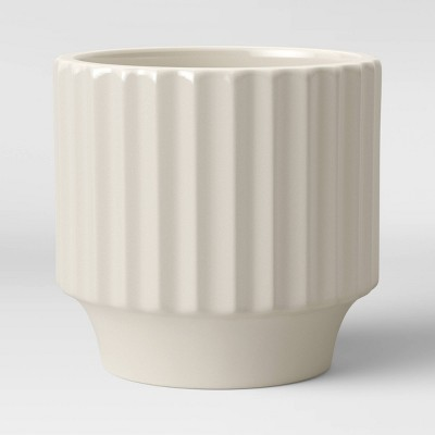 Earthenware Geared Planter White - Project 62™