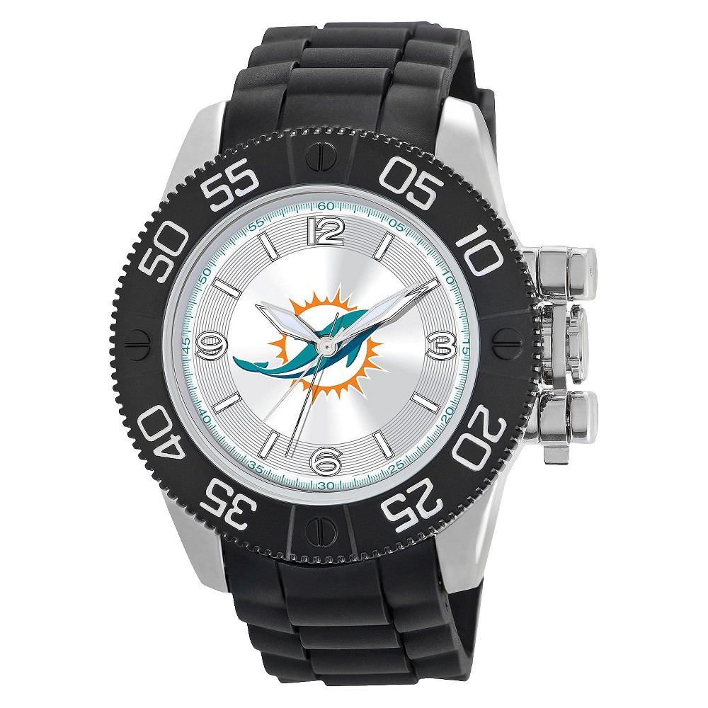 Men's Game Time Miami Dolphins Beast Series Watch - Black