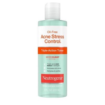 Neutrogena Oil-Free Acne Stress Control Triple-Action Toner - 8 fl oz