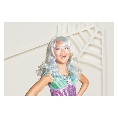 Girls' Mermaid Costume Wig - Hyde and Eek! Boutique™ - image 1 of 1