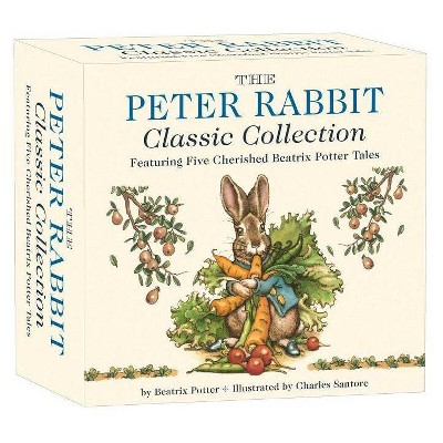 The Peter Rabbit Classic Collection - (Classic Edition)by Beatrix Potter (Board Book)