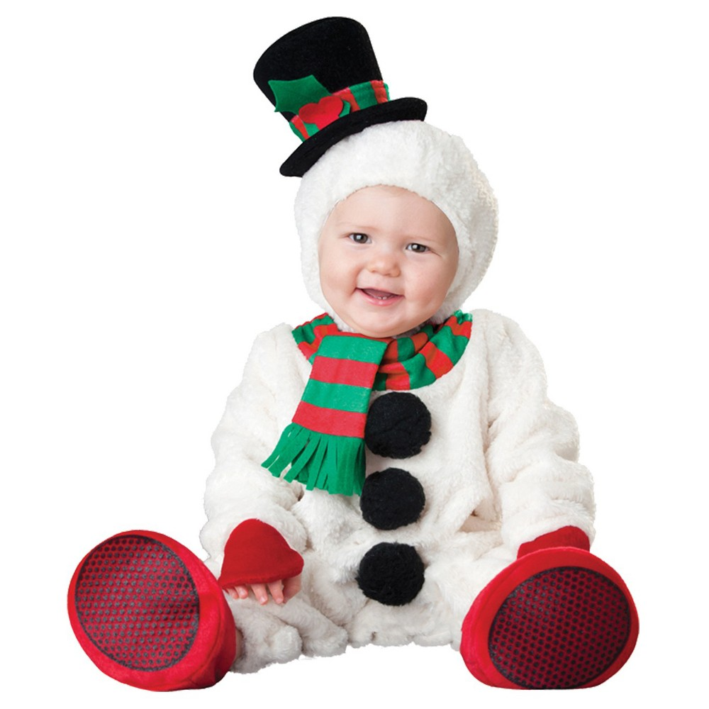 Image of Halloween Boys' Silly Snowman Costume 12-18 Months, Boy's, Size: 12-18M, MultiColored