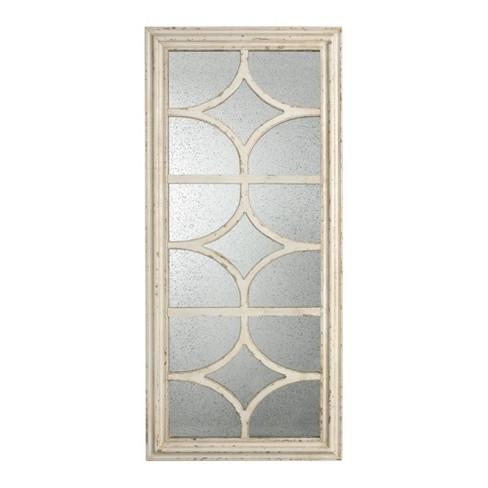 Glister Rectangular Mirror Cream - A&B Home - image 1 of 1