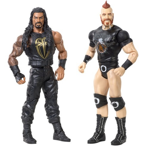 WWE Roman Reigns and Sheamus Action Figures 2pk - image 1 of 4