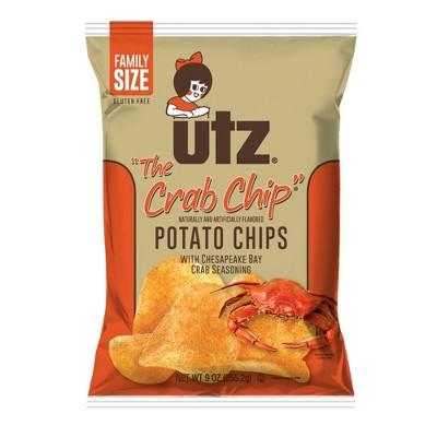 Utz Crab Potato Chips - 9oz