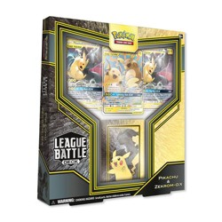 Pokemon Trading Card Game League Battle Deck Pikachu & Zekrom GX
