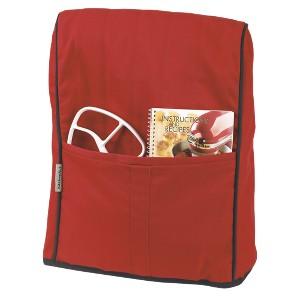 KitchenAid Stand Mixer Cloth Cover - KMCC1, Empire Red w/Black
