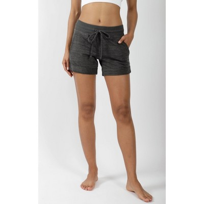 90 Degree by Reflex - Women's Soft Comfy Lounge Shorts with Pockets