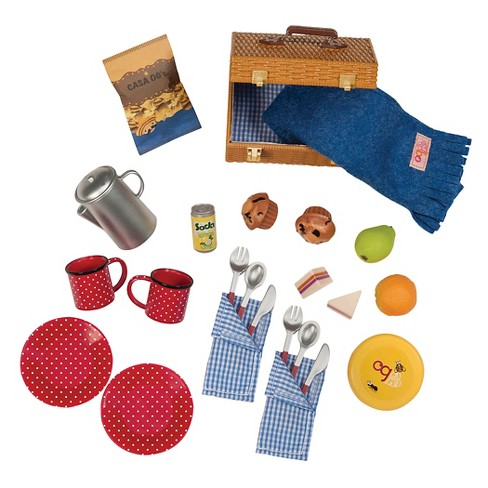 Our Generation Packed For A Picnic Accessory Set Target