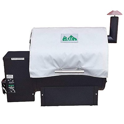 Green Mountain Grills 6003 Insulated Heavy-Duty Weather-Resistant BBQ Grill Protective Thermal Blanket, White