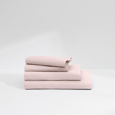 Casper Twill 360TC Sheet Set - Light Pink (King)