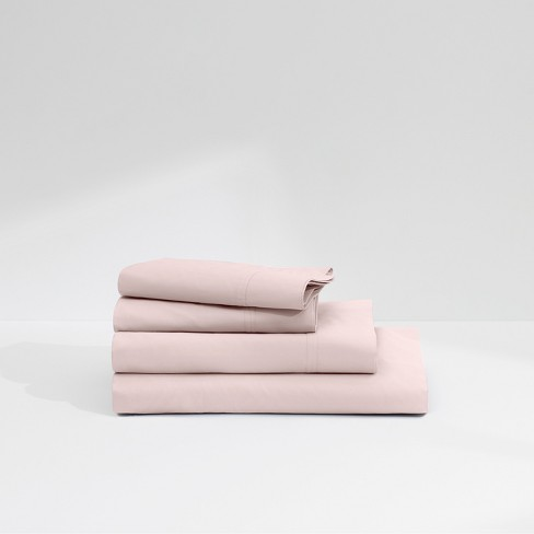 Casper Twill 360tc Sheet Set Light Pink Twin Xl Target