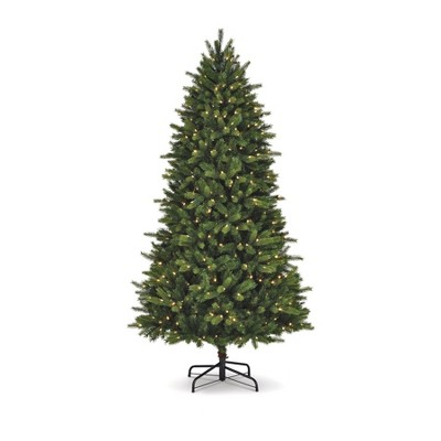 NOMA 7.5 Ft Colorado Pine Artificial Color Changing LED Pre Lit Christmas Tree