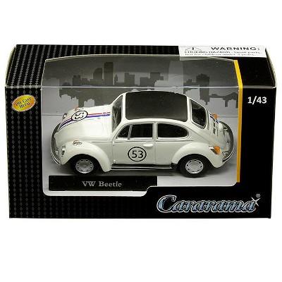 Volkswagen Beetle Racing #53 1/43 Diecast Model Car by Cararama