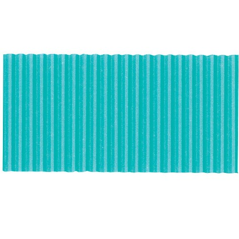 Corobuff Solid Color Corrugated Paper Roll, 48 Inches x 25 Feet, Azure Blue - image 1 of 1
