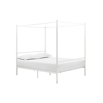 Kelly Metal Canopy Bed - Room & Joy