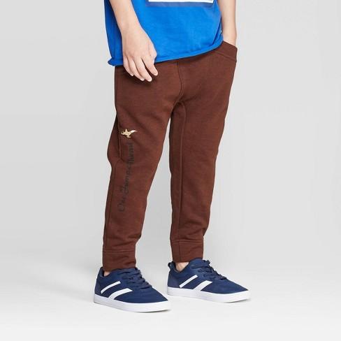 Boys' Aladdin Jogger Pants - Brown - image 1 of 3