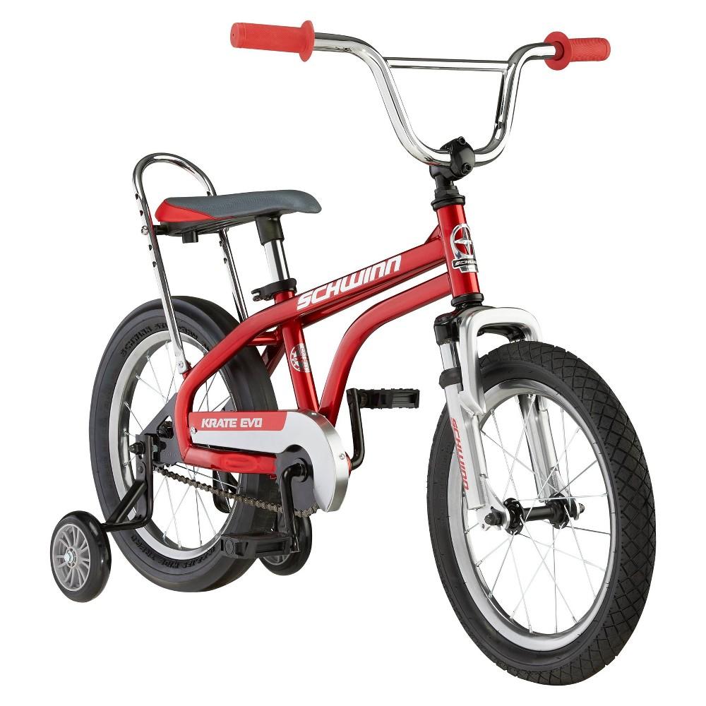 Schwinn Krate Evo 16 34 Kids 39 Bicycle Red