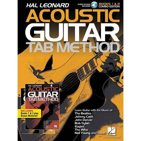 Hal Leonard Acoustic Guitar Tab Method - Combo Edition - (Mixed media product) - image 1 of 1