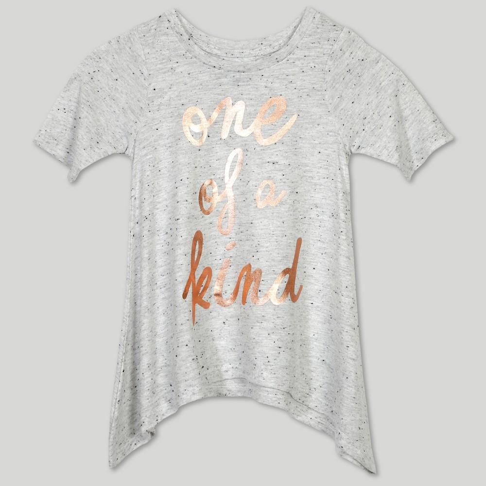 Afton Street Toddler Girls' Short Sleeve T-Shirt - White 2T