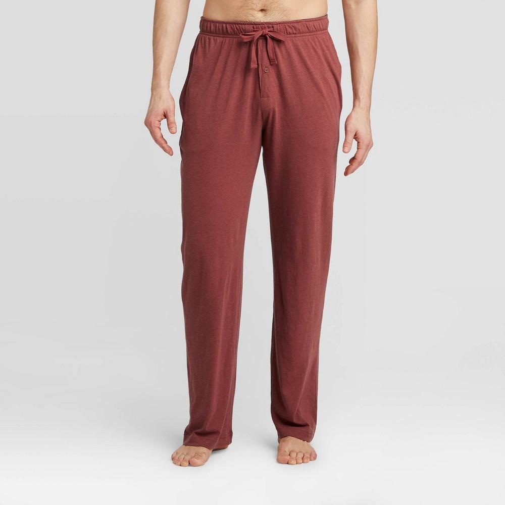 Image of Men's Knit Pajama Pants - Goodfellow & Co Red 2XL, Men's