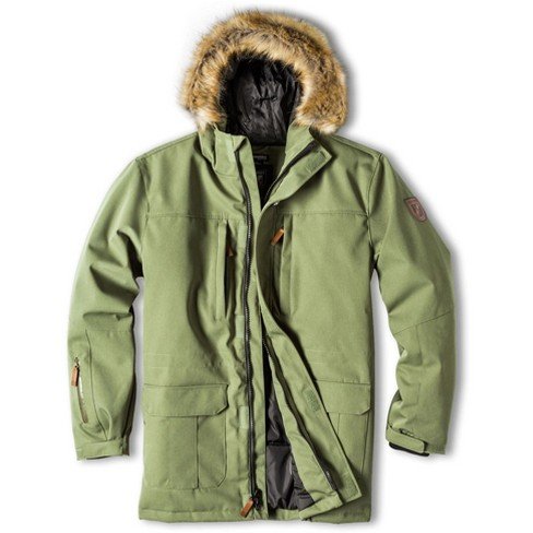 Forest Green Parka