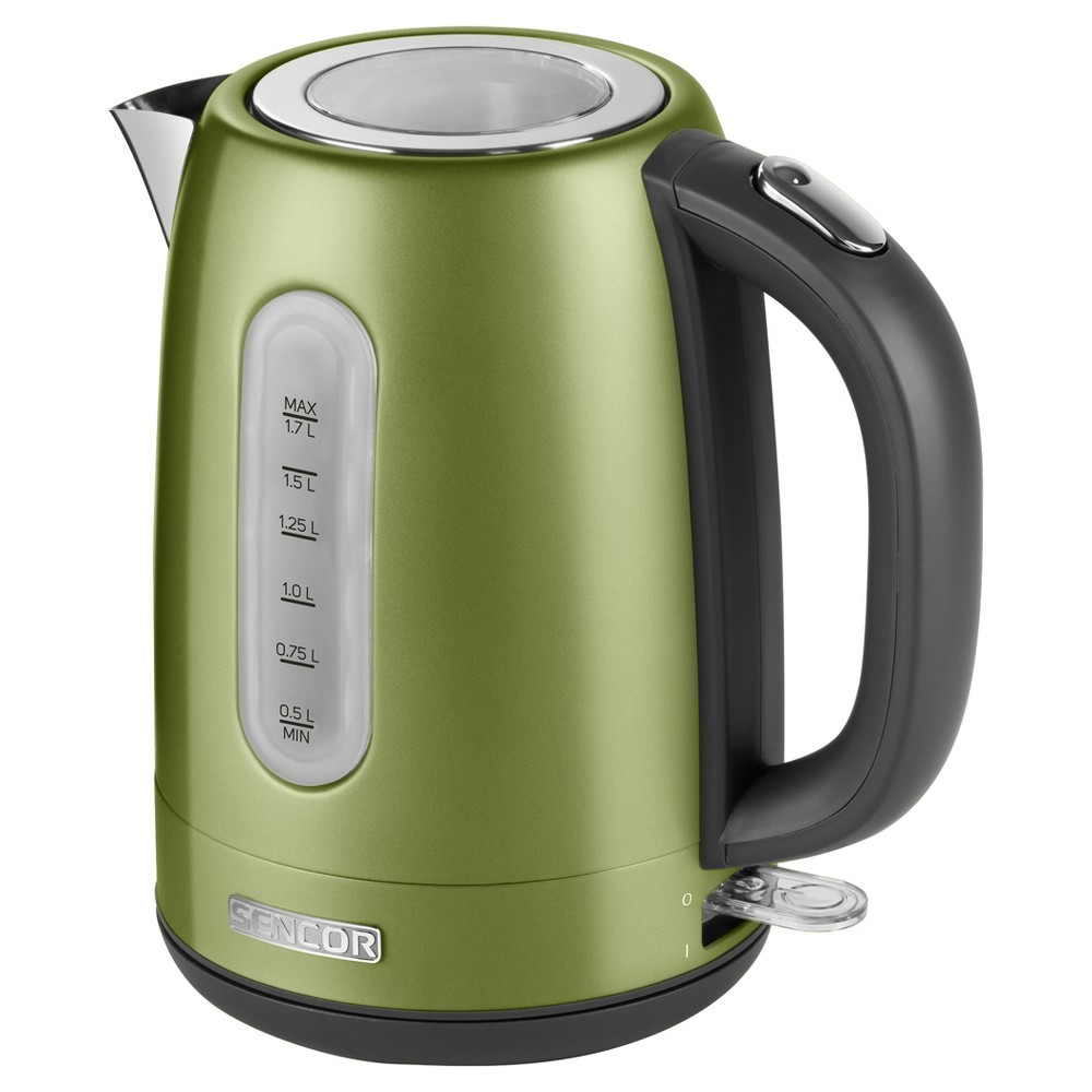 Sencor Metallic 1.7L Stainless Steel Electric Kettle – Lime (Green) 54281519